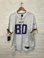 Nike Minnesota Vikings NFL Men's Road Jersey - Large - 80 - White - NWD