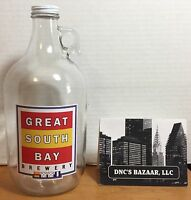 Great South Bay Brewery 64 Fluid Ounce Growler Jug EMPTY