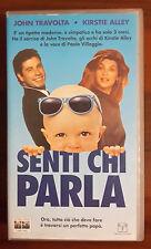 CS21> FILM VHS SENTI CHI PARLA CON JOHN TRAVOLTA E KIRSTIE ALLEY
