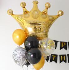 "41"" Gold Crown Foil Helium Balloon Princess Birthday Party Wedding Decoration"
