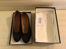 Martiniano high glove heels in black satin US 36.5 w/ box original price $540
