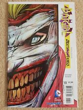 Catwoman Death Of The family #13 The New 52 DC Comics Joker Die-Cut Cover New