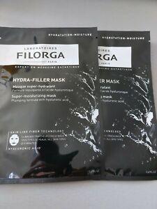 FILORGA HYDRA FILLER MASK NEUF 20ML LOT DE 2
