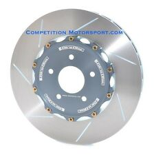 Giro Disc 2-piece 380mm front rotors for Porsche GT4 (2016+)