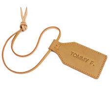 Personnalisé cuir Luggage Tag Travel Luggage Tag Voyage Accessoire Sac Tag