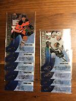 2015-16 Upper Deck Ice Premiers 9 Card Lot /1999