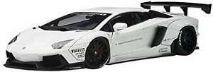 AUTOart 1/18 LIBERTY WALK LB-WORKS LAMBORGHINI AVENTADOR WHITE MODEL NEW