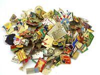 Gros lot de Pin's vintage épinglette publicitaire Mélange environ 150 pins Lot 4