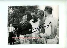 Dan Gurney & Tony Brooks Ferrari F1 German Grand Prix 1959 Signed Photograph