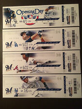 Milwaukee Brewers 2013 Mlb ticket stubs - One ticket