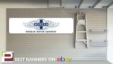 Morgan Motor Company Workshop Garage Banner, Aero8, plus 4, plus 8