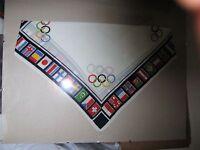 Olympiade 1936 Berlin Sammlerstück Original Tuch Flaggen Fahnen