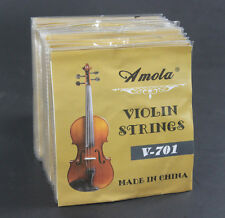 50 Sets Wholesale Factory Directly Amola Steel Nickel Violin String Strings