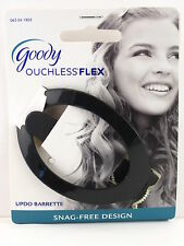 GOODY OUCHLESS COMFORT FLEX UPDO HAIR BARRETTE - BLACK (15704BLK)