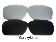 Galaxy Replacement Lenses For Oakley Straightlink Sunglasses Black&Titanium