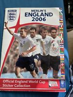 Merlin's England 2006 Sticker Album (incomplete but in acceptable condition)