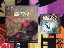 jeu ps vita tachyon project limited edition