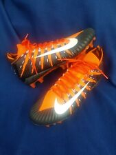 Nike Alpha Menace Elite Td Men's Sz.13.5 Black Orange Football Cleat Aj6547-802