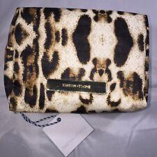 Tartan+Twine Animal Print Organizer Cosmetic Makeup Travel Clutch Bag 5x4x3 NWT