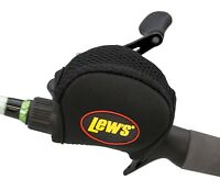 Lews Lew's Baitcast Reel Cover Black 4mm Neoprene For Most Low Profile Reels NEW