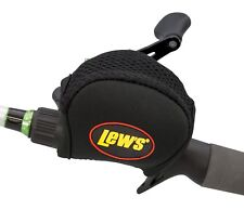 Lews Lew's Baitcast Reel Cover Black 2mm Neoprene For Most Low Profile Reels New
