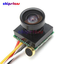 600TVL 1/4 1.8mm lente CMOS 170 grados de ángulo amplio cámara FPV Mini CCD NTSC cf