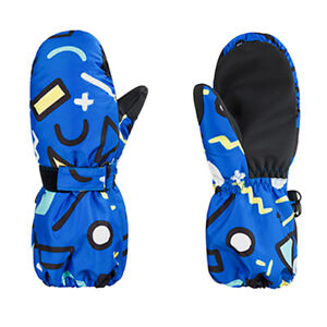 Ski Gloves Kids Winter Warmest Waterproof Breathable Snow Glove for Boys Girls T