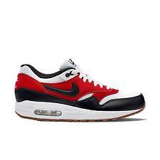 Nike Air Max 1 Essential SZ 11.5 White Black Gamma Orange 537383-122