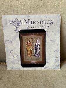 Mirabilia Counted Cross Stitch Chart Maidens Of The Seasons  Nora Corbett Opened