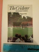 The Cricketer International Quarterly Facts and Figures Winter 1979 Cricket