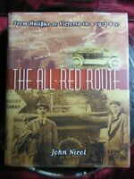 """SIGNED John Nicol """"All-Red Route Halifax to Victoria in a 1912 Reo"""" 1999 HB Book"""