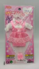 "Daiso Restaurant clerk uniform pink for dress-up Doll ""Ellie"" series JAPAN  F/S"