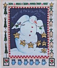 Daisy Kingdom Christmas Keeper of the Wishing Stars Quilt Fabric Panel