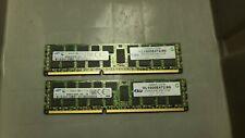 Samsung 16GB Kit 2X8GB RDIMM 2Rx4 PC3L-12800R DDR3 1600MHz ECC REG Memory RAM