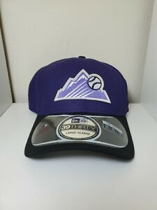 Colorado Rockies MLB 39Thirty Flex Fit Hat/Cap Size L/XL