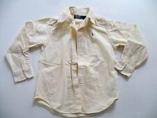 """chemise """" RALPH LAUREN """" 4 ans Garcon jaune pale manches longues"""