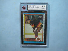 1989/90 TOPPS NHL HOCKEY CARD #89 TREVOR LINDEN ROOKIE RC KSA 9.5 NEAR GEM MINT
