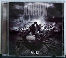 GACKT CD und DVD: ARROW (Japan The GazettE, miyavi) GLCD-00010