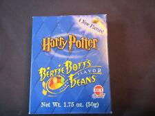 Harry Potter - Bertie Bott's Every Flavor Beans,Rare Blue 1.7 Oz. Box, New