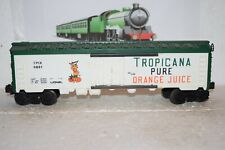 O Scale Trains Lionel Tropicana Orange Juice Reefer 9861