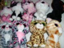 """**YOU PICK TY BEANIE BOOS CATS TABITHA SHADOW SOPHIE PEPPER SPECKLES MUFFIN 6"""""""