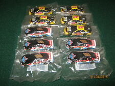 "Diecast Nascar 1:64 Scale (3"") Amoco #93 & Cat #22 ""New"" Set of 10 (5 each)"