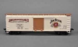 Jim Beam Whiskey Wood Boxcar- 40' - Train Miniature - CUSTOM ONE OF A KIND
