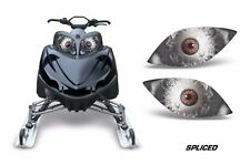 Headlight Eye Graphics Kit Decal Cover For Arctic Cat M Series Crossfire SPLCE K