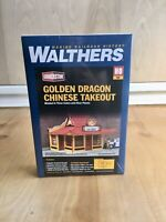 WAlthers Ho Scale Cornerstone Golden Dragon Chinise Takeout #933-3780 New-Sealed