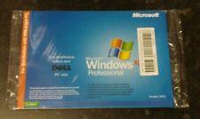 Neuf Scellé Dell Microsoft Windows XP Professionnel SP2 2002 pour PC & Laptop