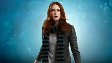Noa Noa West End Wool Dress In Mist Melange SA XL Amy Pond Cosplay Doctor Who