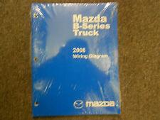 2008 Mazda B-Series Truck Electrical Wiring Diagram Service Repair Manual NEW 08