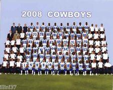 2008 DALLAS COWBOYS FOOTBALL TEAM 8X10 PHOTO