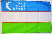 UZBEKISTAN 3 X 2 FEET FLAG Tashkent Uzbek Asia